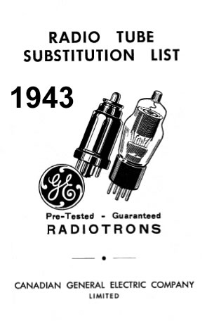 1943 Tube Substitution Manual