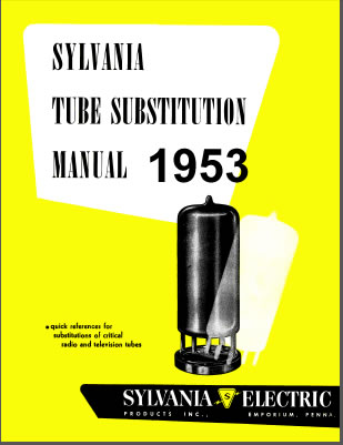 1953 Tube Substitution Manual