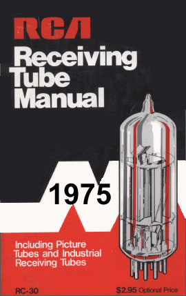 1975 Tube Data Sheet Manual